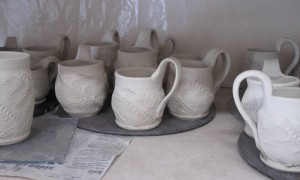 greenware mugs - new design