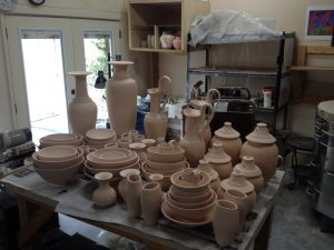 4-7-2014 new bisque ware to glaze over the next few weeks