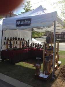 My Booth at the Kings Drive Art Walk 4-26 & 27 2014