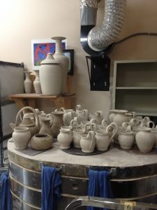 More greenware to bisque fire soon 6/12/14  I hope to see many people this Saturday at Art in the Park in Blowing Rock NC