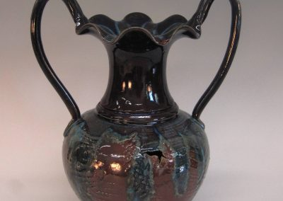 "Vase with Handles 12.5"" x 10""   item # 252"