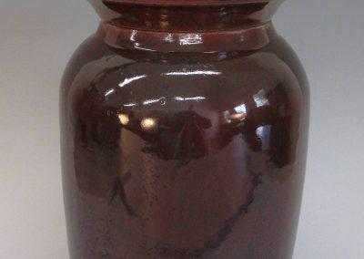 """item # 228  12"""" x 7""""  Olive Jar"""