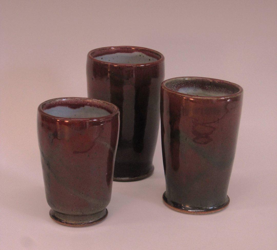 """item # 239   10.5′ x 5""""   Split  Vase"""