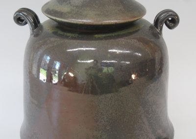 "Lidded Jar   11"" x 9""   Item # 268   $195"