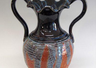 """Item #289 Vase 12 1/2"""" x 10""""  $165"""