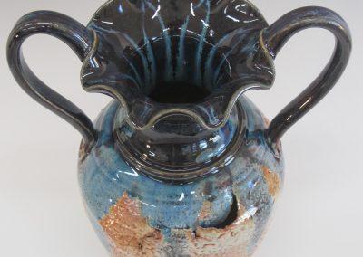 """Item #290 Split & Torn Vase 13 1/2"""" x 9 1/2""""  $165"""