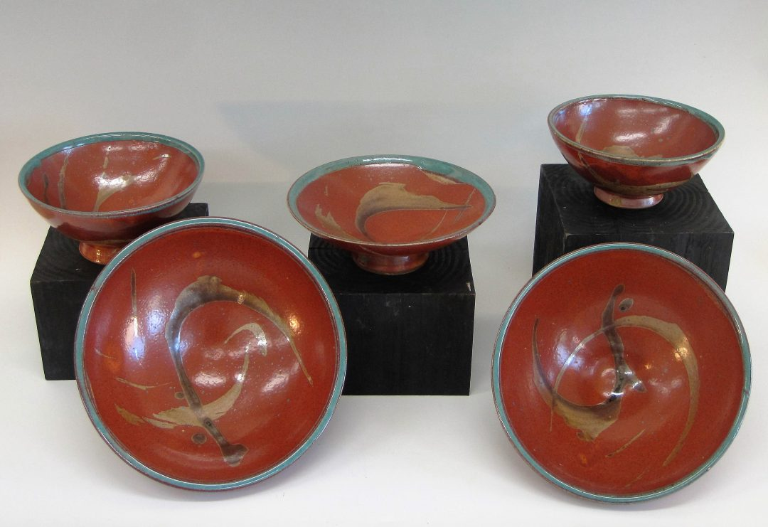 "Assorted Bowls $20 to $45  2 1/2""x 5 1/2"" to 3 1/2""x 8"""